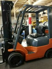 Toyota Forklift Model: 7Fgu25 in Excellent Clean Condition. Runs Great.