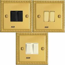 Georgian Brass Light Switche Home Electrical Fittings