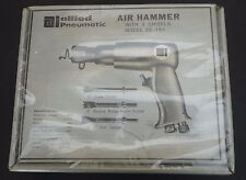 Vintage Allied Pneumatic Air Hammer tool w/ 3 chisels NEW SEALED