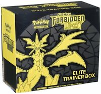 Pokemon TCG Sun and Moon: Forbidden Light Elite Trainer Box [Trading Card Game]