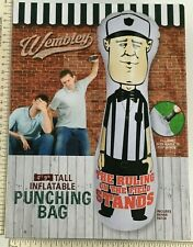 Wembley Inflatable Referee Punching Bag Exercise Ruling on the Field New In Box