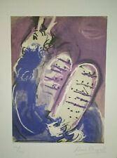 MARC CHAGALL NICE Lithograph Hand Signed in Pencil