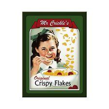 Magnet Kühlschrankmagnet Mr. Crickles Crispy Flakes 8x6cm Metallschild Schild
