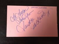 SANDRA DICKINSON - POPULAR ACTRESS - EXCELLENT SIGNED VINTAGE ALBUM PAGE