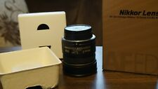 NIKON AF DX Fisheye Nikkor 10.5mm F2.8 G ED Lens In Good Condition From Japan