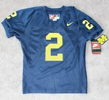 NEW Nike #2 Charles Woodson Authentic Football Jersey Michigan 48 XL vtg 1997