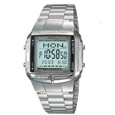 Casio DB-360-1A Telememo Stainless Steel Digital Watch with box Included