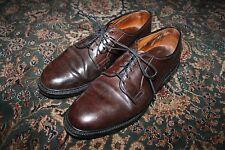 Allen Edmonds Leeds #8 Burgundy Shell Cordovan Blucher PTB Kleid Schuh 8.5 D