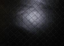 Diamond Quadrato Trapuntato Look In Finta Pelle Tappezzeria in Similpelle Abito in tessuto