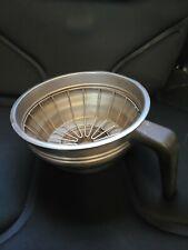 Bunn Stainless Steel Coffee Filter Funnel Brew Basket 7 No Splashguard
