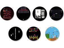 Lot Pack Badge Button Ø38mm Retro Game Jeu Vidéo Retrogaming Arcade