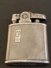 More details for rare vintage ronson hallmarked sterling silver pocket petrol cigarette lighter