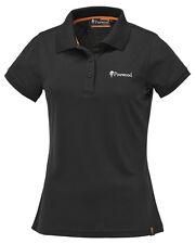 Pinewood 9318 Ramsey Damen Poloshirt Schwarz Coolmax T-Shirt NEU