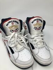 RARE PATRICK EWING ECLIPSE OLYMPIC WHITE RED BLUE DREAM TEAM 1992 Size 8 US
