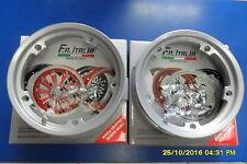 CERCHI TUBELESS MARGHERITA GRIGIO 2-00/10 VESPA PX PK HP SPECIAL 50 125 150