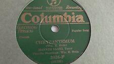 Hannes Saari -  78rpm single 10-inch - Columbia #3036-F (copy 1) Chrysantemum