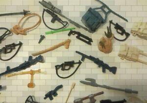 Vintage Star Wars Weapons Accessories Original 1977-1985 *You Pick*