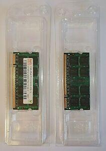 Hynix Pair of 1GB Ram Memory -  Taken from a Mac Mini  - 2Rx8 PC2-5300S-555