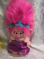 "Dreamworks Trolls Poppy Plush Soft Toy Stuffed Animal 18"""