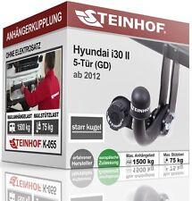 Anhängerkupplung AHK starr HYUNDAI i30 II GD 5-Tür ab 2012 NEU TOP