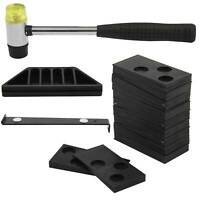 Wood Laminate Tool  Floor Wood Flooring Fitting Installation Kit with 20 Spacer