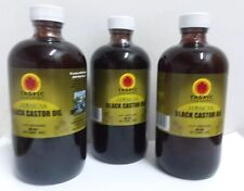 Tropical Isle Living Jamaican Black Castor Oil 8 oz (Pack of 3)
