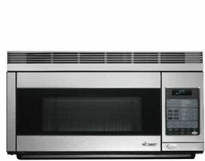 Dented Dacor PCOR30S Professional Style Microwave, stainless-steel