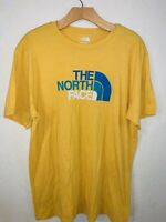 Yellow The North Face Logo Slim Fit T Shirt Size XL