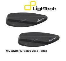 LIGHTECH COPPIA TAPPI SPECCHIETTI ERGAL NERI MOTO MV AGUSTA F3 800 2012 - 2018