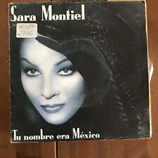 SARA MONTIEL - TU NOMBRE ERA MÉXICO - SINGLE PHILIPS 1988