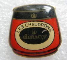 Pin's Boite de Conserve Bocal DAUCY Légumes LES CHAUDRONS #C5