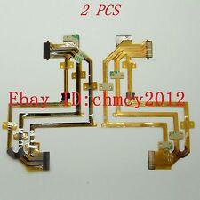 2PCS LCD Flex Cable For SONY DCR-SR32 SR52 DCR-SR62 DCR-SR82 DCR-SR200 DCR-SR300