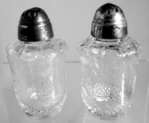 Heisey - No.1567 Plantation Salt and Pepper Shaker - Pair