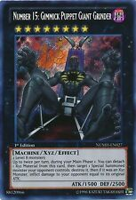 Yugioh Gimmick Puppet 43 Card XYZ Deck Leo Strings Giant Grinder Wall NUMH