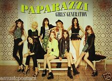 "GIRLS' GENERATION ""PAPARAZZI"" PROMO POSTER FROM THAILAND-K-Pop,Korean Girl Group"