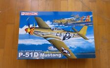 DRAGON P-51D MUSTANG-EARLY PRODUCTION,  1/32 SCALE