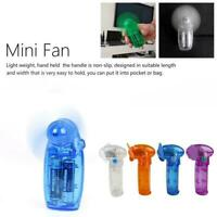 Plastic Hand Held Cooler Battery Operated Cooler Hand Fan Held Color Mini X9T2