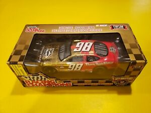 NASCAR 50th ANNIVERSARY #98 1:24 scale THORN APPLE VALLEY FORD TAURUS GOLD CAR