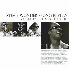 STEVIE WONDER - SONG REVIEW - CD SIGILLATO 1996