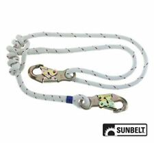 """B1AB180 1/2"""" Lanyard Smooth Rope Adjustable, Double-Braid, 3' to 6'"""
