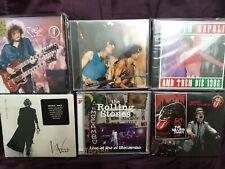 The Rolling Stones CD's und andere Mocambo Bourbon 6 Stück Rock Sammlungsauflösu