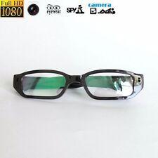 1080P HD Personal Digital Video DVR hidden spy mini Camera Black Glasses Eyewear