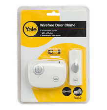 Yale Wireless Door Chime - Bell waterproof house entrance entry 32 sounds