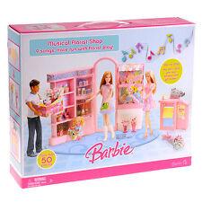 Mattel Barbie Musical Florist Shop and florist doll (JAPAN)