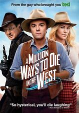 A Million Ways To Die In The West (DVD + UV, 2014) R4 PAL NEW FREE POST