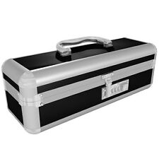 Lockable Vibrator Case - Regular - Black - Discreet Adult Novelty Toy Box