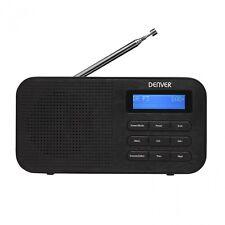 DAB digital Radio / UKW Radio mit zwei Weckzeiten Denver DAB 42