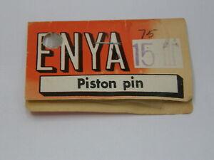 WRIST PIN FOR THE VINTAGE ENYA ENGINE .15-III (Part # 15306) NIB