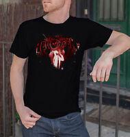 Helloween Logo Men Black T-shirt Metal Band Fan Tee Shirt Rock Band