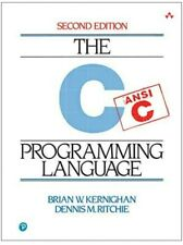 C Programming Language by Dennis M. Ritchie and Brian W. Kernighan Int'l ed